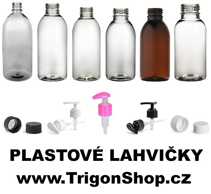 plastové lahvičky
